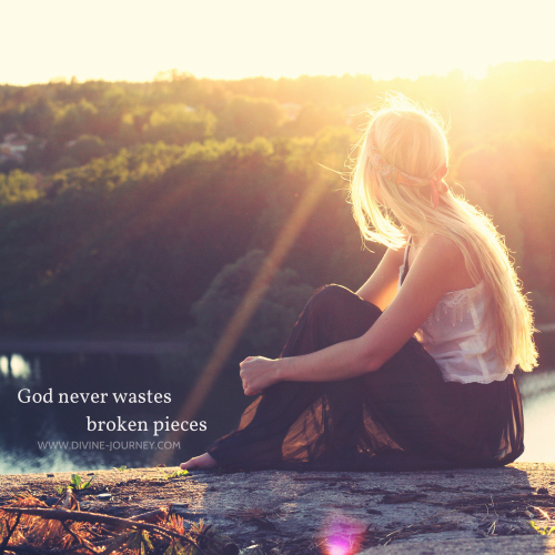 Image result for god is with broken hearted